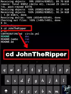 cd John The Ripper Termux