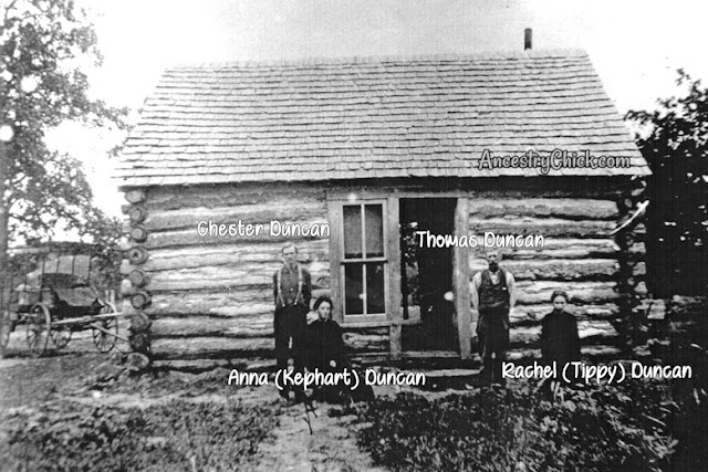 Chester and Carrie Duncan Cabin
