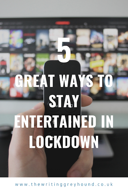 5 great ways to stay entertained in lockdown graphic