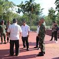 Usai Tinjau PLBN Sota, Sekretaris BNPP Sampaikan Salam Kepada Prajurit Kostrad