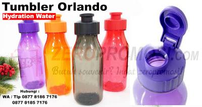 Barang Promosi Tumbler Orlando Hydration Water Bottle, Botol Promosi Orlando Hydration Water Tumbler, Botol air Minum plastik unik, Souvenir botol minum BPA free, botol minum cetak logo dengan harga terjangkau