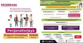 Program Perantisan PERKESO (Pemerkasa) : Insentif Berjumlah RM800 Sebulan
