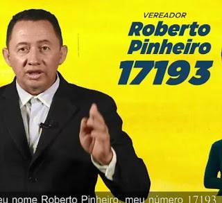 Candidato a vereador pelo PSL da capital Roberto Pinheiro divulgou sua agenda de campanha para este sábado