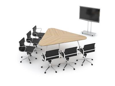 Thiết kế bàn họp đặc biệt theo mẫu
