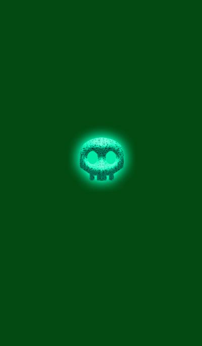 Simple green skull 2