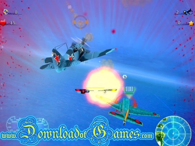 تحميل لعبة حرب الطائرات وهجوم الجو Air attack