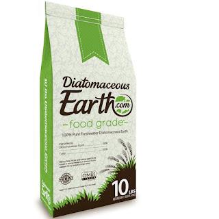 Diatomaceous Earth (DE) for natural pest control