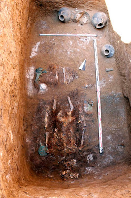 Ancient warrior woman's grave unearthed in Russia