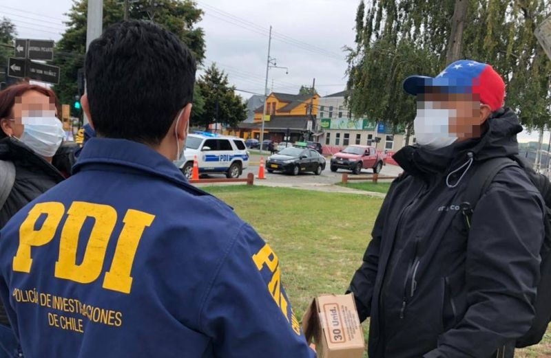 PDI Los Ríos detectó a dos extranjeros con orden de expulsión vigente del país