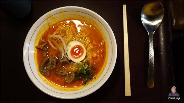 Kobe Beef Ramen, Harga 915 Yen