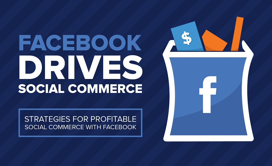 Facebook Drives Social Commerce: Strategies For Generating Positive ROI From #Facebook - #infographic