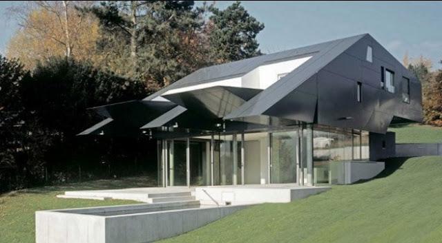 10 Rumah Minimalis Futuristik Dengan Desain Menarik dan Elegan