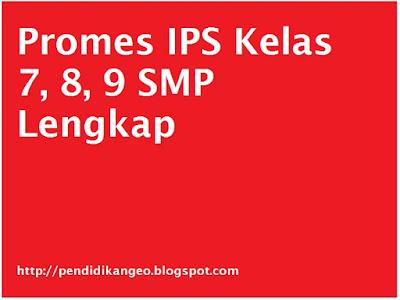 Download Promes IPS Kelas 7, 8, 9 SMP Lengkap