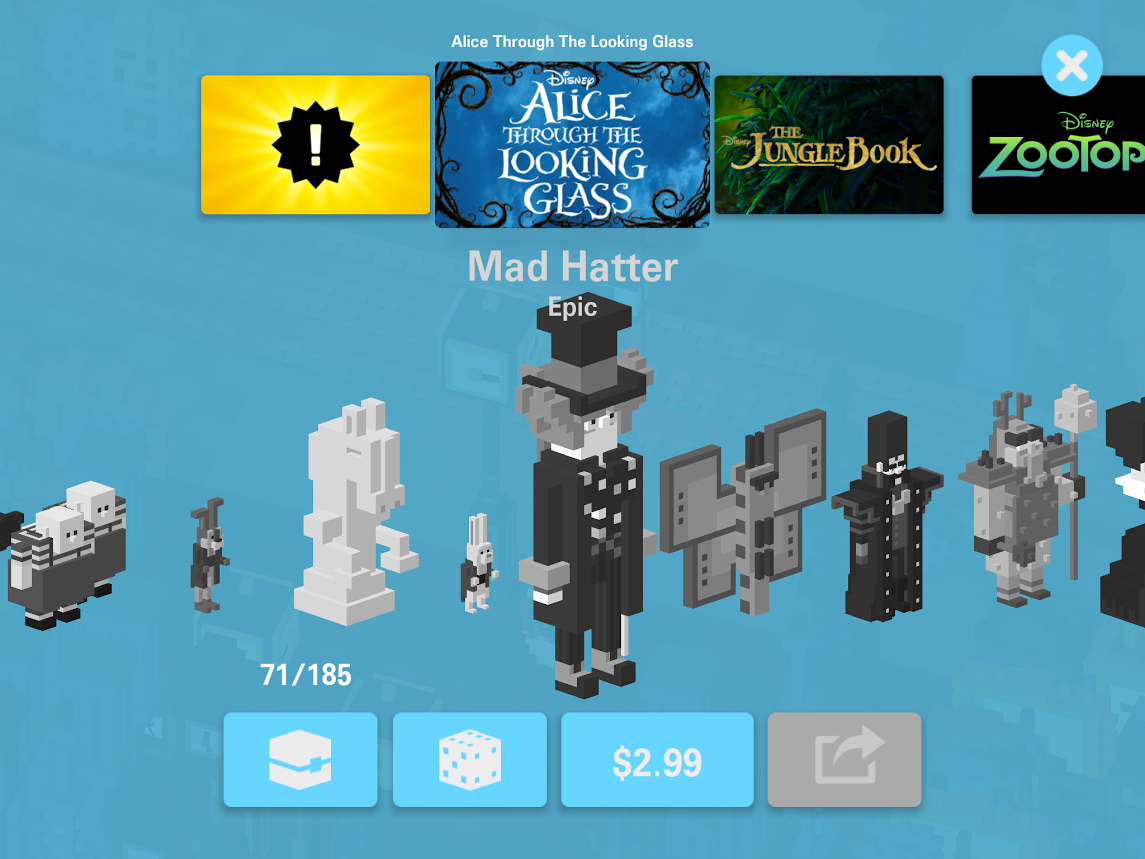 Disney Crossy Road Adds Alice Level and Daily Missions   The