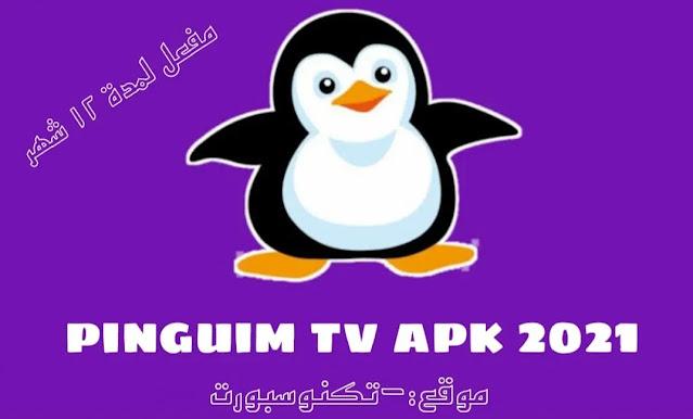 تحميل تطبيق Pinguim tv 2021