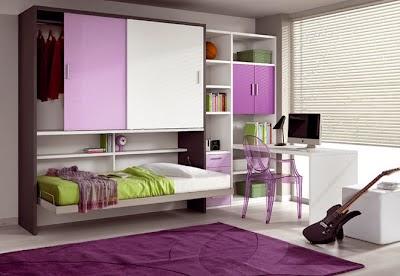 Decoraci n de dormitorios juveniles peque os dormitorios colores y estilos - Dormitorios juveniles espacios pequenos ...