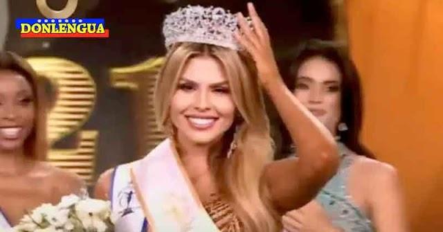 PEOR ES NADA   Valentina Sánchez quedó en tercer lugar en el Miss Supranational 2021