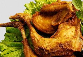 Resep Ayam Goreng Kunyit yang tiada duanya