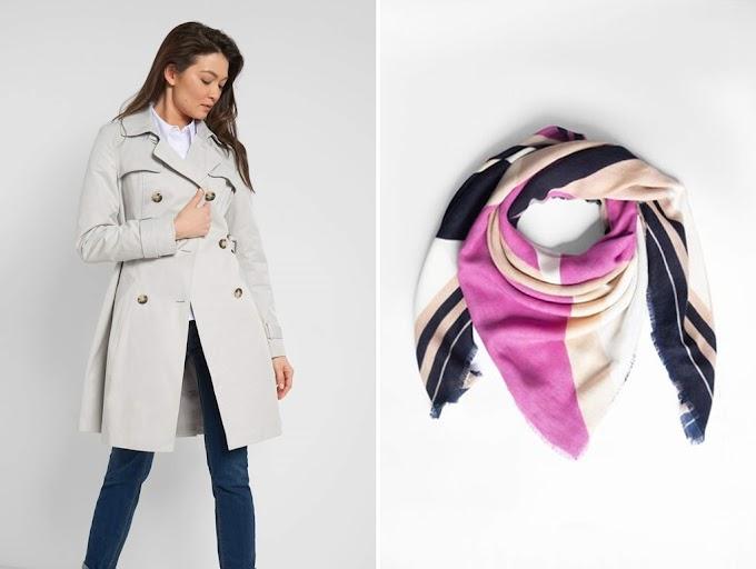 Jaka apaszka do szarego płaszcza?