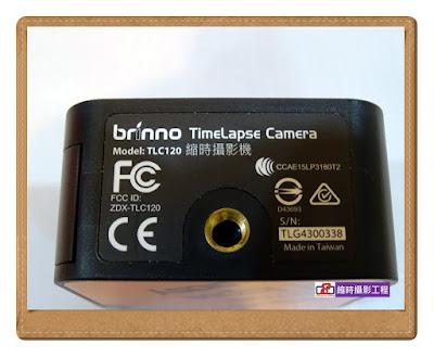 開箱文 Brinno TLC120
