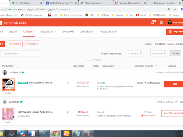 (NEW) Chat Interface Baru di Shopee Seller Center