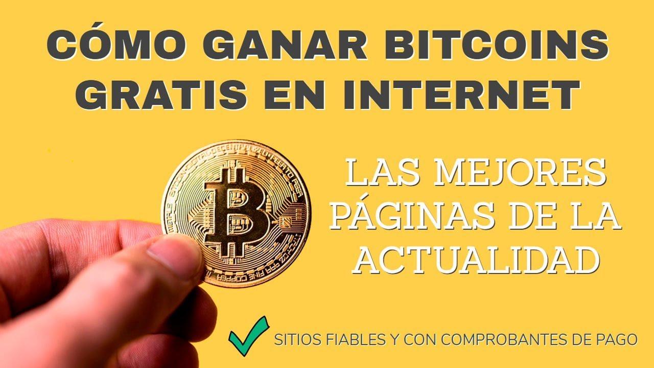 Cómo ganar bitcoins gratis en el 2020
