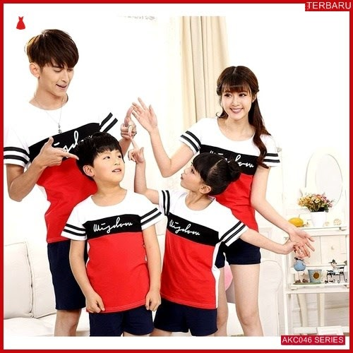 AKC046K120 Kaos Couple Anak Anak 046K120 Keluarga BMGShop
