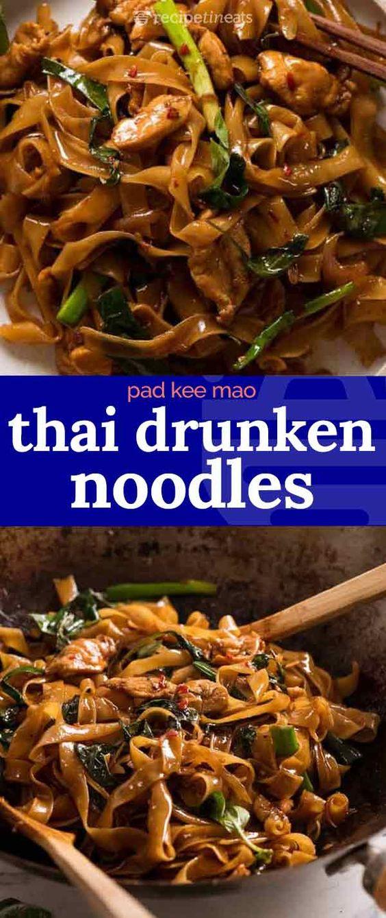The Best Thai Drunken Noodles Recipe