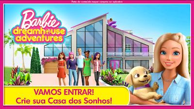 Barbie dreamhouse Adventures Apk Mod tudo desbloqueado v8.0