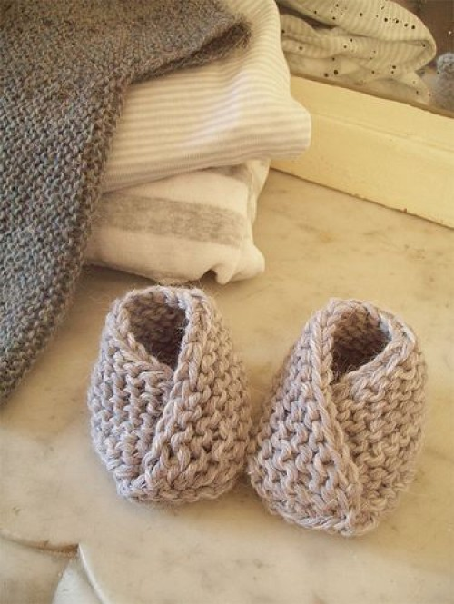 Chaussons mignons - Free Pattern