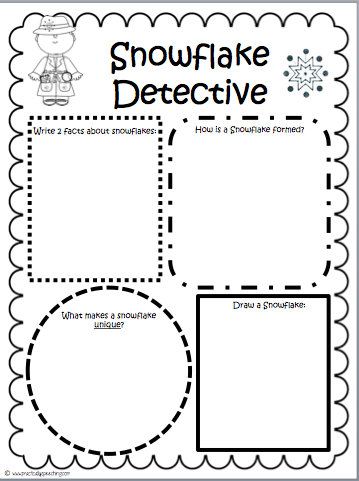 Snowflake Bentley Comprehension Packet