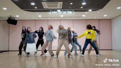 Twice More and More Tiktok Dance Challenge