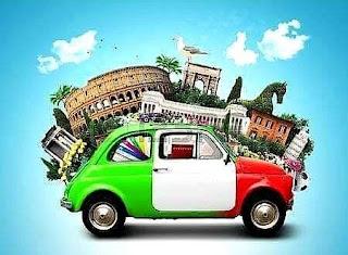 Llegar a Roma desde el coche