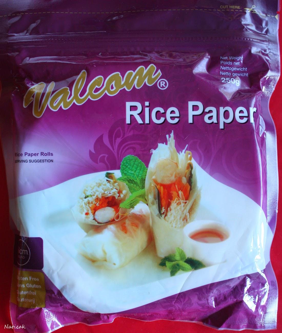Galettes de riz,Valcom(  Kitchen Trotter)
