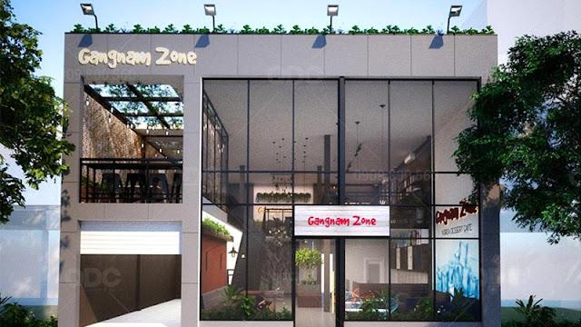 Mặt tiền nhà hàng Gangnamzone