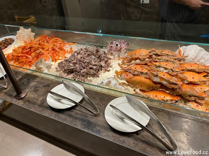 新北板橋-Market Flavor悅市集 @ 台北新板希爾頓酒店-迷你的高質感Buffet 現切牛排與螃蟹
