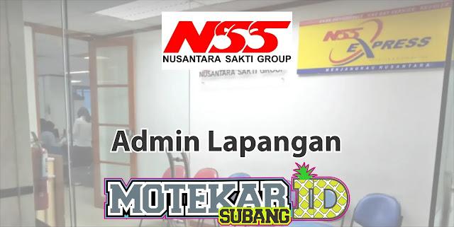 Lowongan Kerja Admin Lapangan Nusantara Sakti Grup 2019