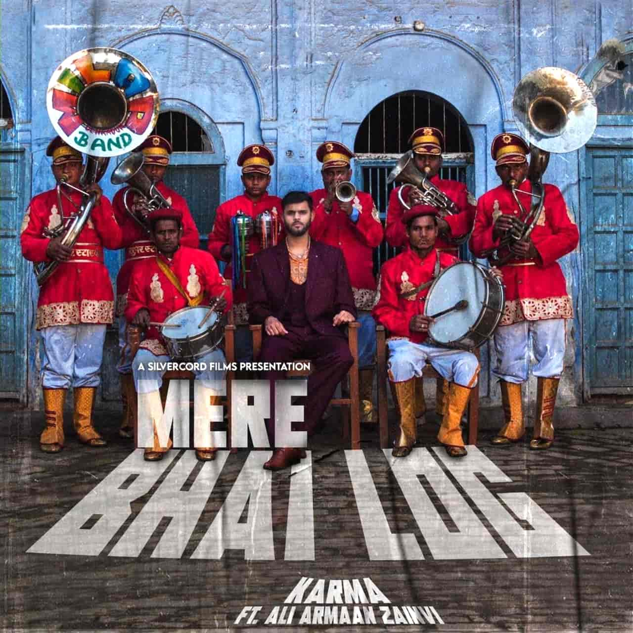 Mere Bhai Log Rap Song Image Features Karma
