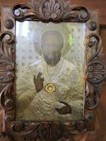 Icono de San Nicolás perteneciente a la Iglesia Ortodoxa de Kotor