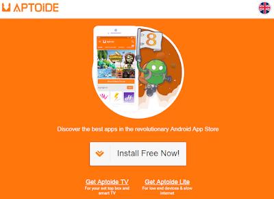 Aptoide Installer Page