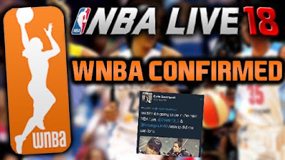 WNBA Confirmed for NBA Live 18