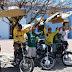 Moto taxistas do centro da cidade cobram melhores condições de trabalho