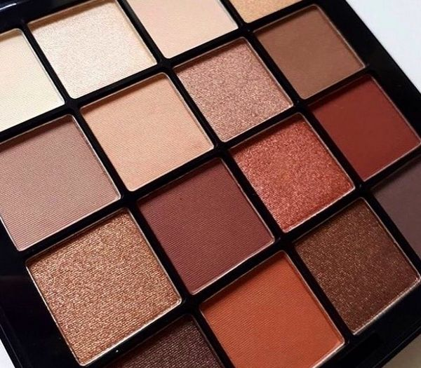 Blog beauté : Ultimate Shadow Palette, warm neutrals, NYX Professional Make-up (Instagram)
