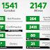 Itabuna com 3771 casos, 1541 curados, 25 em UTI e 83 óbitos