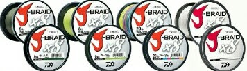 J-BRAID® x8 Braided Line