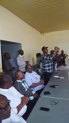 JUBILATION RENT THE AIR AS BARR.OTOBONG PAYS A SURPRISE VISIT TO HIS COMMUNITY PEOPLE,  IKOT EKWERE  UBIUM IN NSIT UBIUM LOCAL GOVERNMENT AREA WITH MESSAGE OF UNIFICATION.