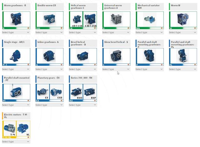 Скриншот страницы конфигуратора STM