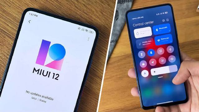 مراجعة الواجهة الرئيسية MIUI 12 لنظام أجهزة Xiaomi