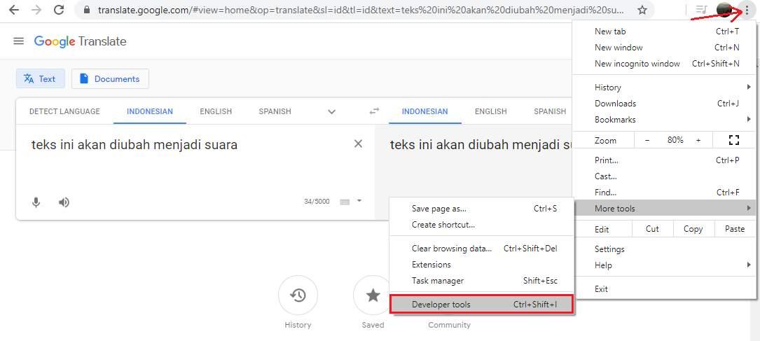 Cara Download Suara Google Translate di Android, iOS, dan Laptop - Klik Refresh