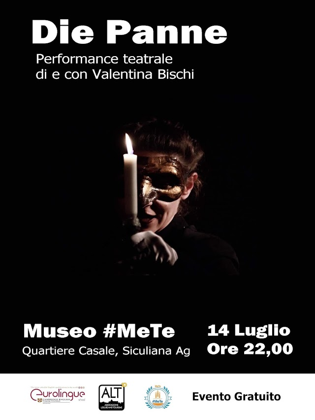 Die Panne - Teatro al #MeTe con Valentina Bischi